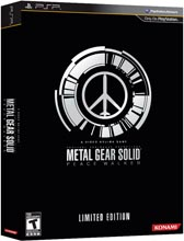 Metal Gear Solid Peace Walker Collector's Edition