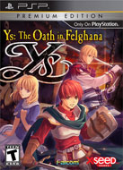 Ys: The Oath in Felghana Limited Edition