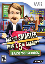 Are You Smarter Than A 5th Grader Back To School