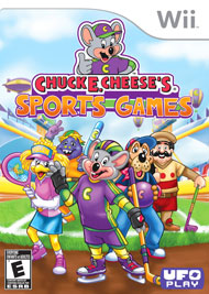 Chuck E Cheeses's Sports Games