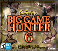 Cabela's Big Game Hunter 6  - Jewel Case