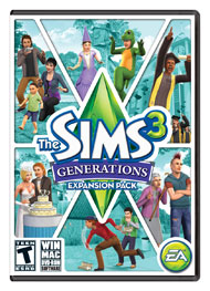 The Sims 3 Generations Expansion Pack