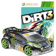 Dirt 3 with Ken Block Gymkhana RC Car Bundle